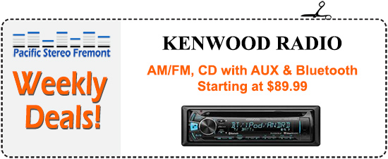 AM/FM, CD with AUX & Bluetooth, starting at $89.99