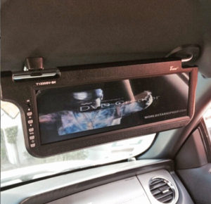 Keep your passenger entertained!