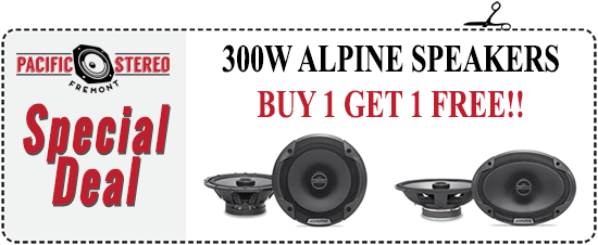 Alpine Speaker Sale -- Buy 1 Get 1 FREE